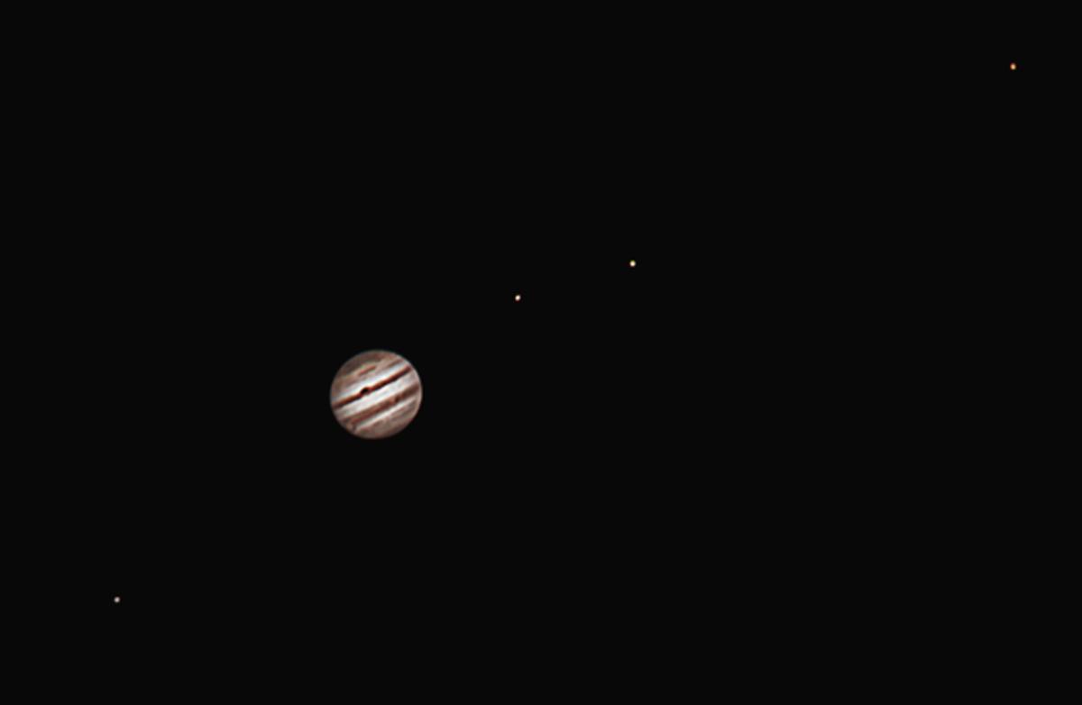 фото юпитера через телескоп древних